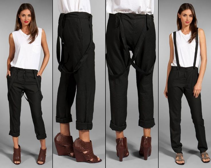 How to Rock Suspenders for Women