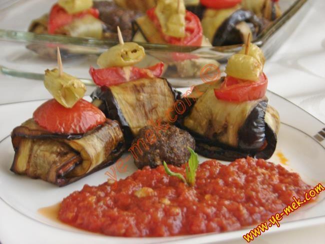 Köfteli Kürdan Kebabı Resimli Tarifi - Yemek Tarifleri