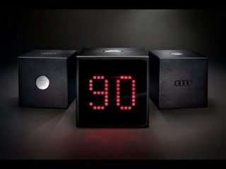 The Audi Test Drive Cube #audi #testdrive #case #button #90 #minutes #countdown #a8