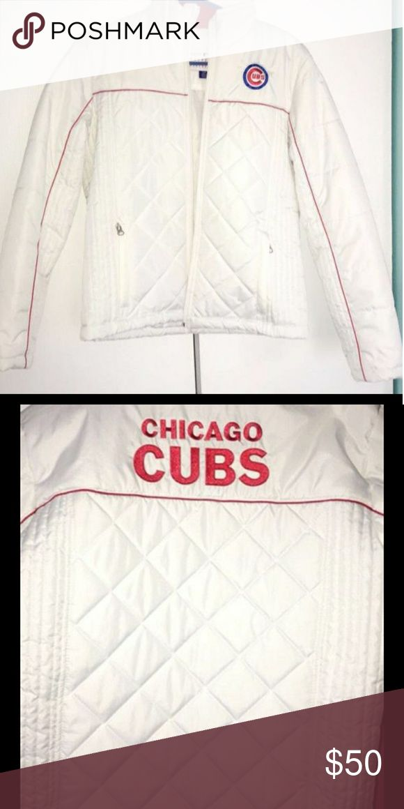 Cubs jacket Crew neck never worn Jackets & Coats
