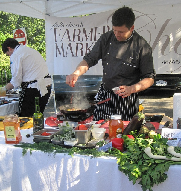 Adding the paprika by Falls Church Farmers Market Chef, via Flickr