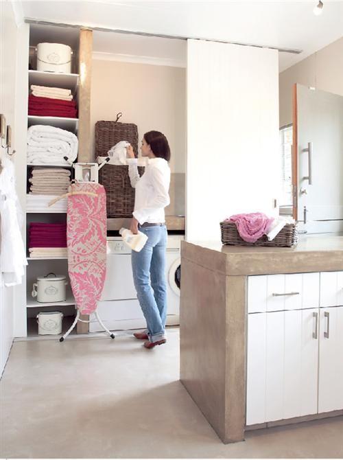 Weggesteekte waskamer