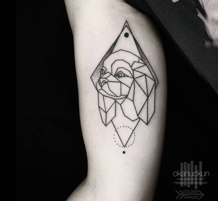 Lines and Dots: The Blackwork of Tattooer Okan Uckun