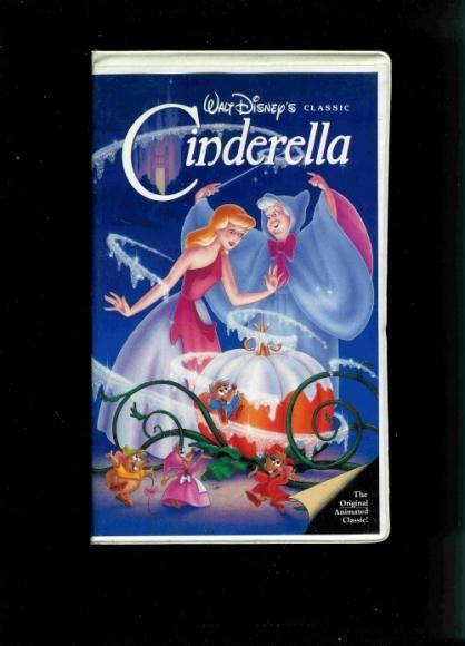 Cinderella on VHS. It's still my favorite...