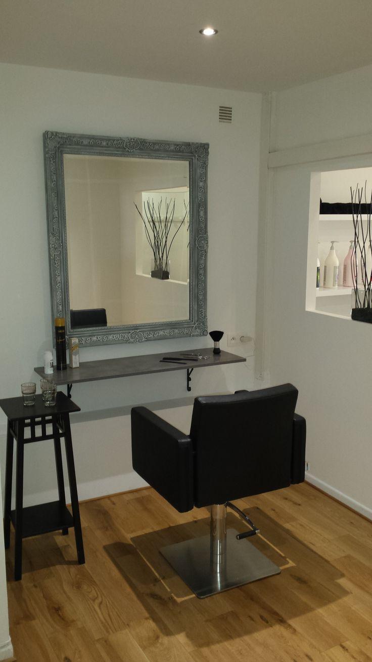 best 25 salon coiffure ideas on pinterest salon design. Black Bedroom Furniture Sets. Home Design Ideas
