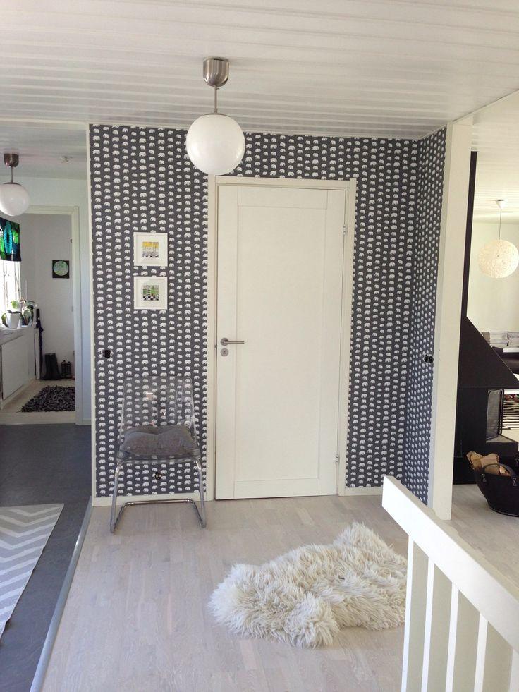 Svensk Tenn Tapet Hall Home Pinterest