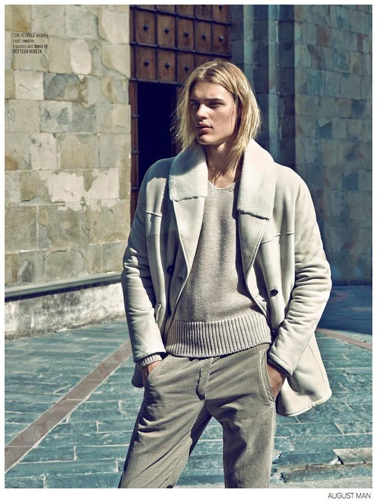 Ton Heukels + Aurelien Muller Step Out in Luxe Fall Fashions for August Man image August Man Fashion Editorial 005