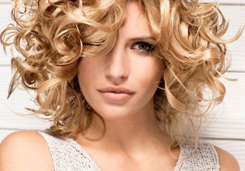 short formal curls hairstyle