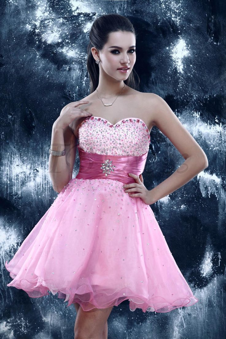 29 best sweet sixteen dresses images on Pinterest | Ballroom dress ...