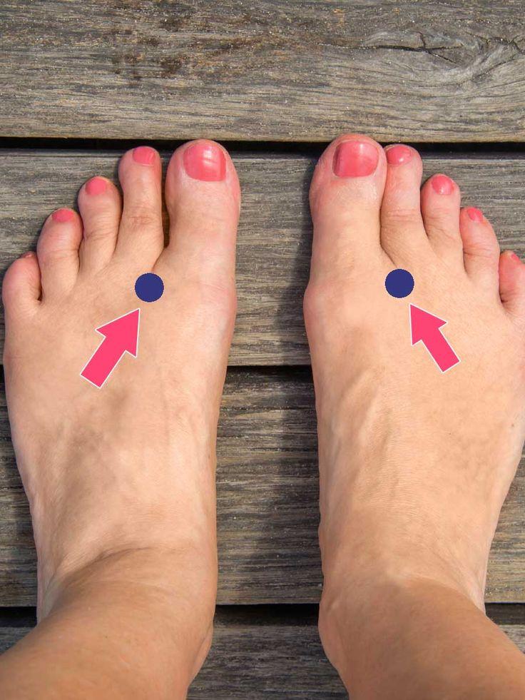 Bist du nervös, unruhig? Kannst du nicht schlafen? Die Marmatherapie kann helfen! Massiere diesen Punkt an deinem Fuß und deine rasenden