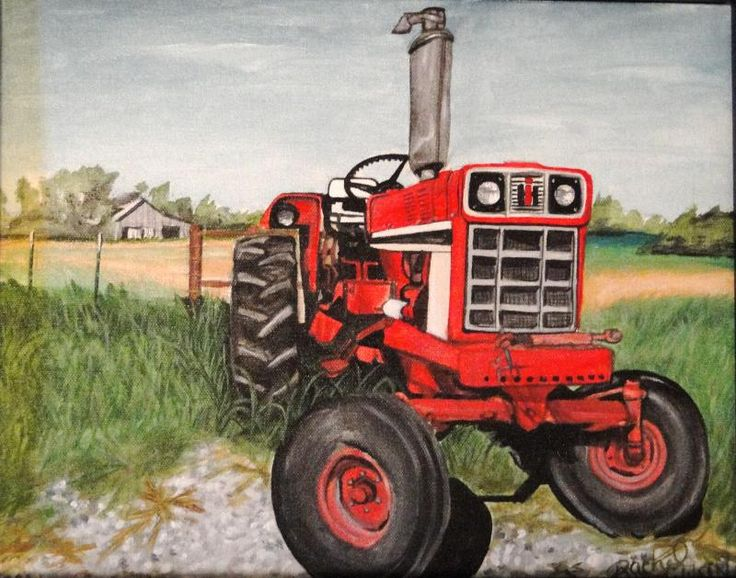 case ihfarmall tractor to do list pencil drawings