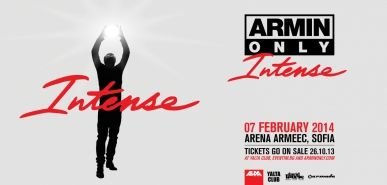 Армин ван Бюрен избра България за мащабен шоу концерт