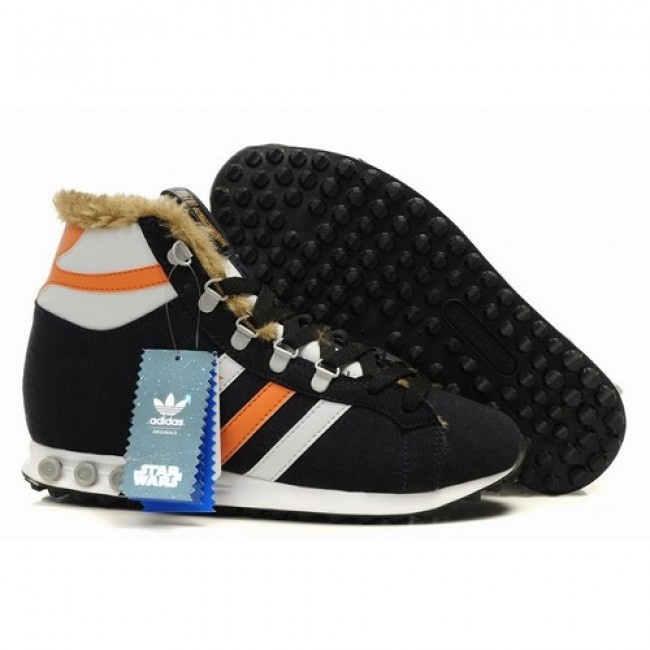 Collection Mens Star Wars X Adidas Chewbacca Shoes Black For $116.80 Go To: http://www.jeremyscottvip.com
