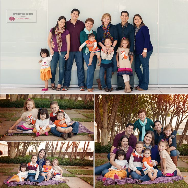 (C) Hamilton Creek Photography, extended family pictures, what-to-wear large families, what-to-wear, posing large families