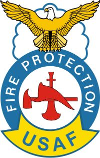 USAF Fire Protection Badge #Firefighter | Life of A Firefighter ...