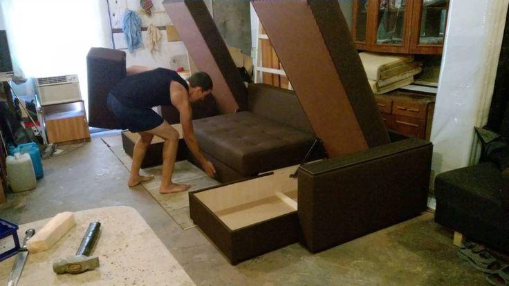 П-образный диван, механизм тик-так. Диваны на заказ