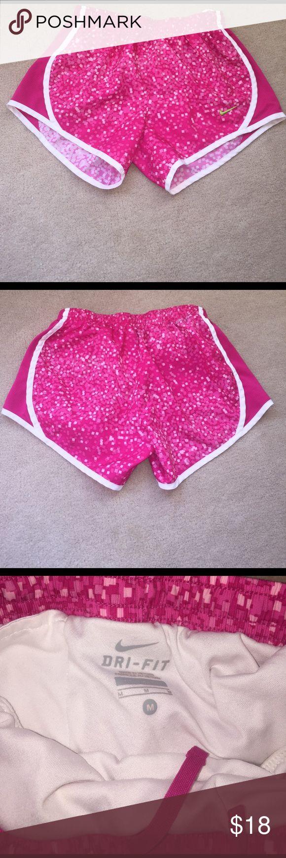 Girls Nike Tempo Shorts! Nike running shorts, barely worn in perfect condition! Size medium girls! Nike Shorts