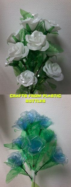 Crafts from plastic bottles 10
