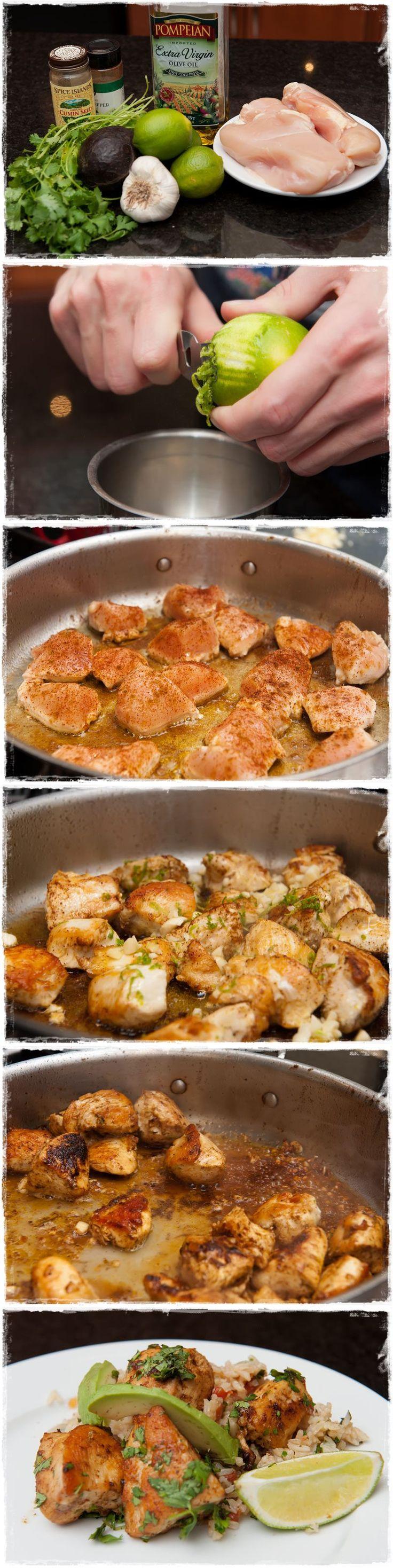 cilantro chicken