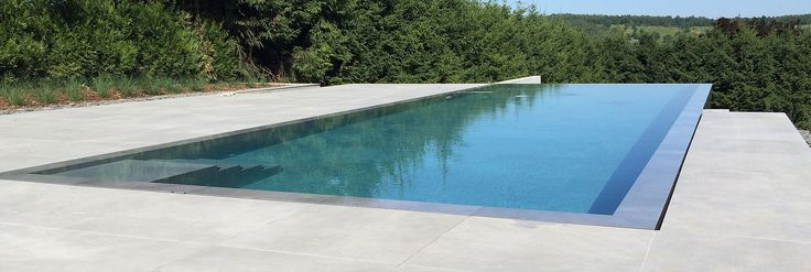 Sleek Contemporary Pool Combined Underflow And Overflow: 268 Best Images About Piscine On Pinterest