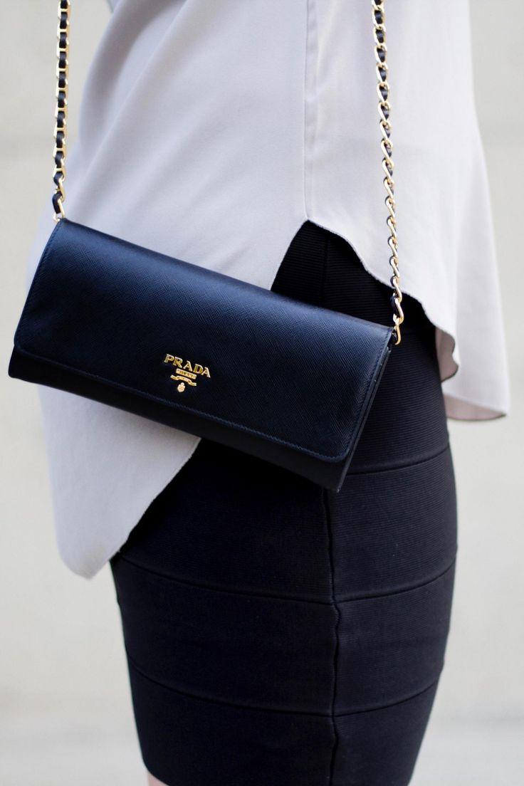 Designer Bag Review: Prada Wallet on a Chain