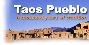 Taos Pueblo is the only living Native American community designated both a World Heritage Site by UNESCO and a National Historic Landmark. The multi-storied adobe buildings have been continuously inhabited for over 1000 years. We welcome you to visit our village when you travel to northern New Mexico.
