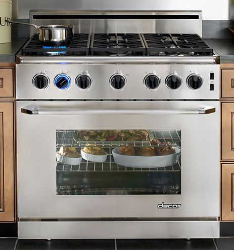 gas ranges 6 burners 36 inches | 36 inch gas range cooker from Dacor - 6-burner range | Appliancist