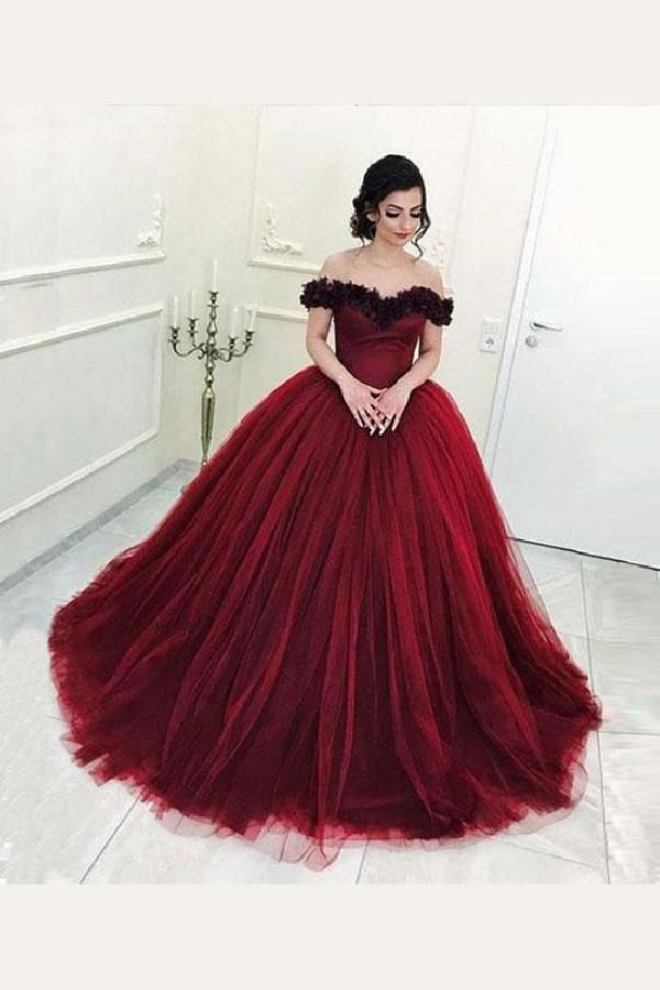 Admirable Burgundy Burgundy Off The Shoulder Formal Dress 208a4de4cbb5