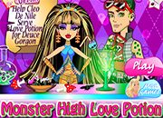 juegos monster high cleo de nile love potion