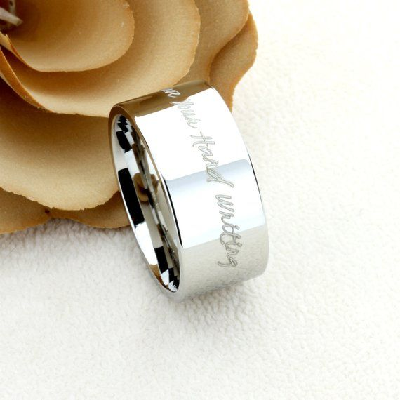 Pin On Custom Engraving Personalized Rings