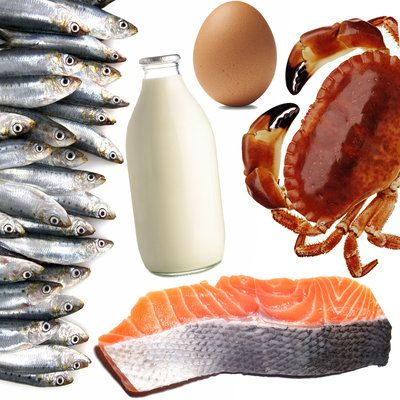 What do salmon, milk, and eggs all have in common? They are all high vitamin B12. Here's a complete list of foods high in the stellar nutrient. | Health.com