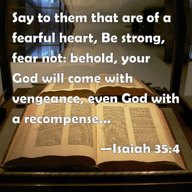 Bible Quotes Revenge: 23 Best GOD WILL TAKE VENGEANCE Images On Pinterest