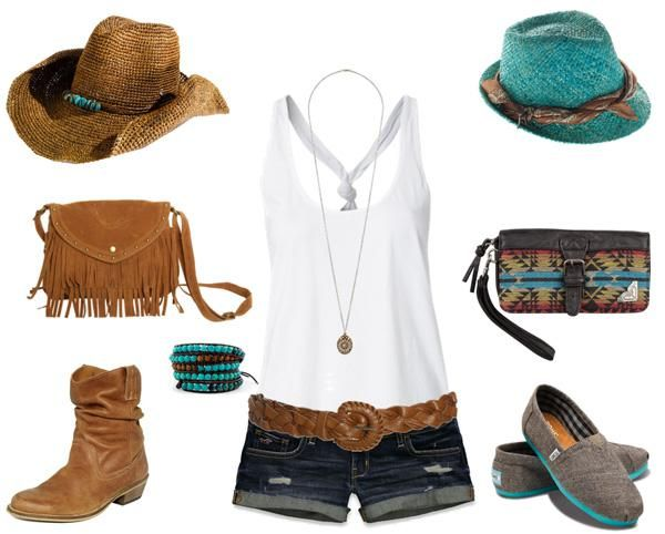 country music festival outfits | Festival Wear…