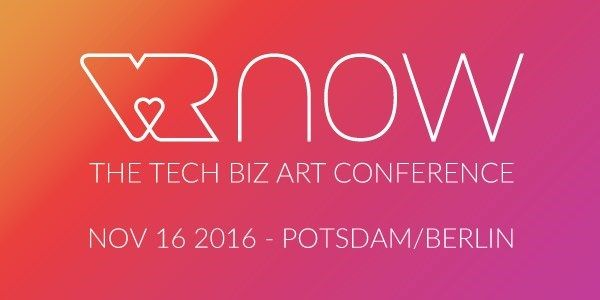 VR NOW Con is the first ever conference and awards show in Germany dedicated exclusively to virtual reality. Celebrating the best of VR with a two-stage, full day conference, showcase, and awards show on Nov 16, 2016.