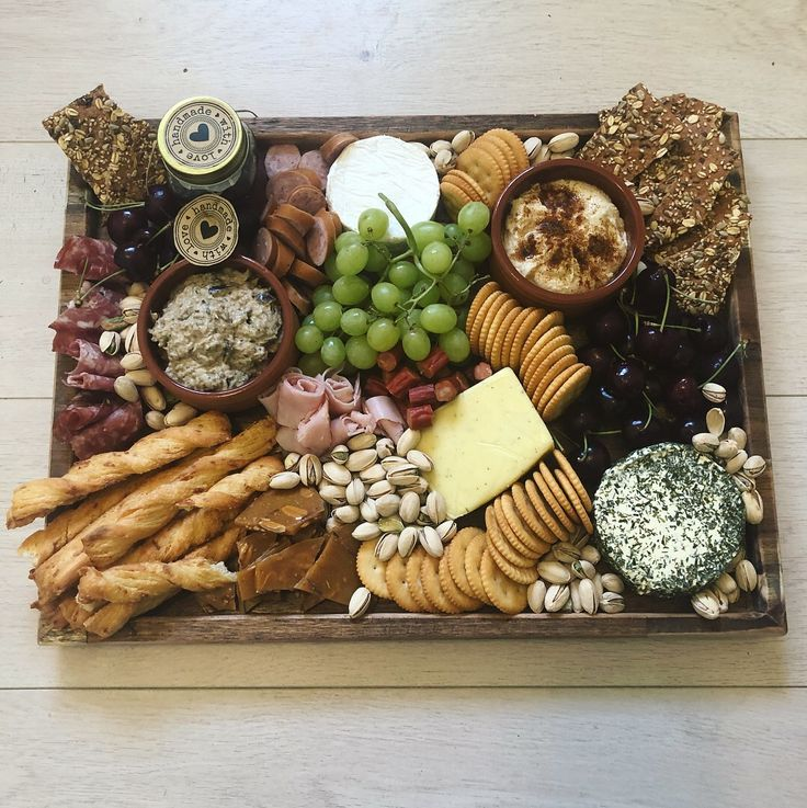 Gourmet platter box. Made in Australia by @inditribecollective