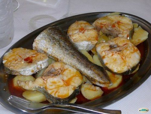 120 best recetas de pescado images on pinterest fish for Como cocinar pescado al horno