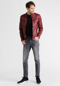 Gipsy - COULTER  - Lederjacke - ox red