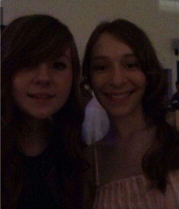 Lauren and Nadya