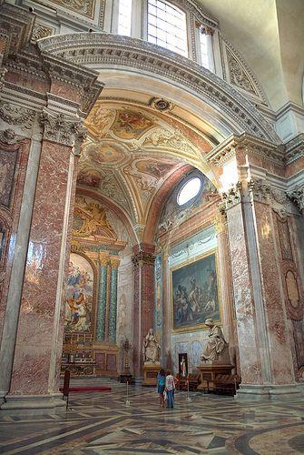 Santa Maria degli Angeli e dei Martiri (renovation of the Baths of Diocletian) Rome - Michelangelo, Architect