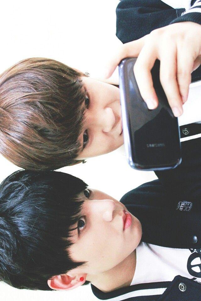 Jungkook and Jimin BTS
