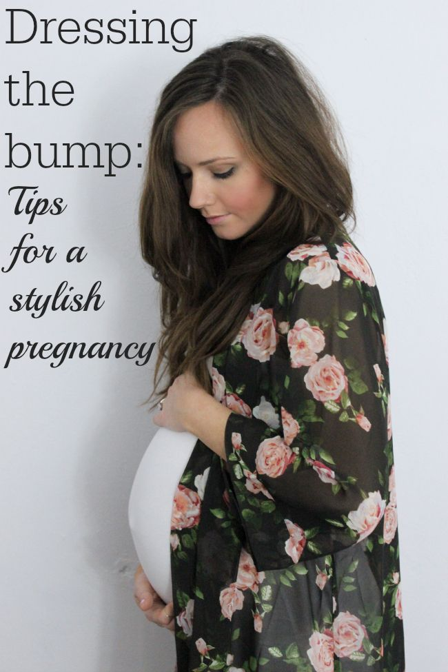 Dressing the bump: tips for a stylish #pregnancy