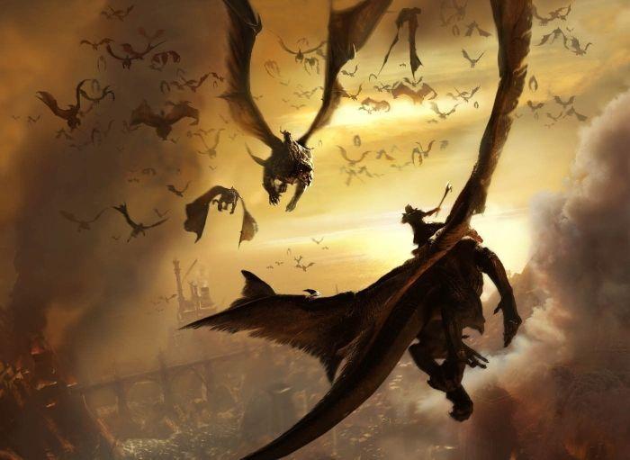 Dragon against Dragon!