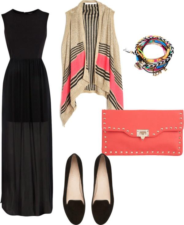 Looks con Vestidos Largos