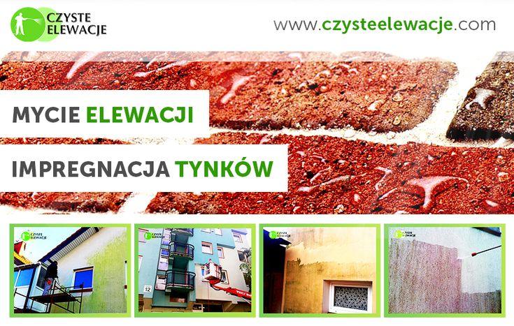 Mycie elewacji, impregnacja tynków, czyszczenie ścian - Czyste Elewacje