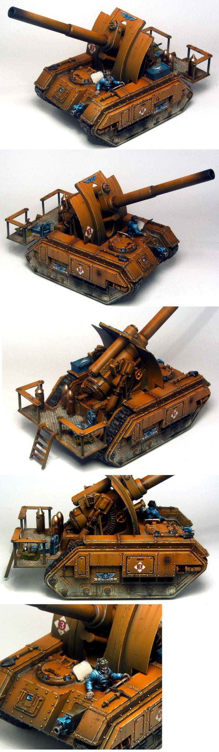 40k - Imperial Guard Basilisk Artillery Tank