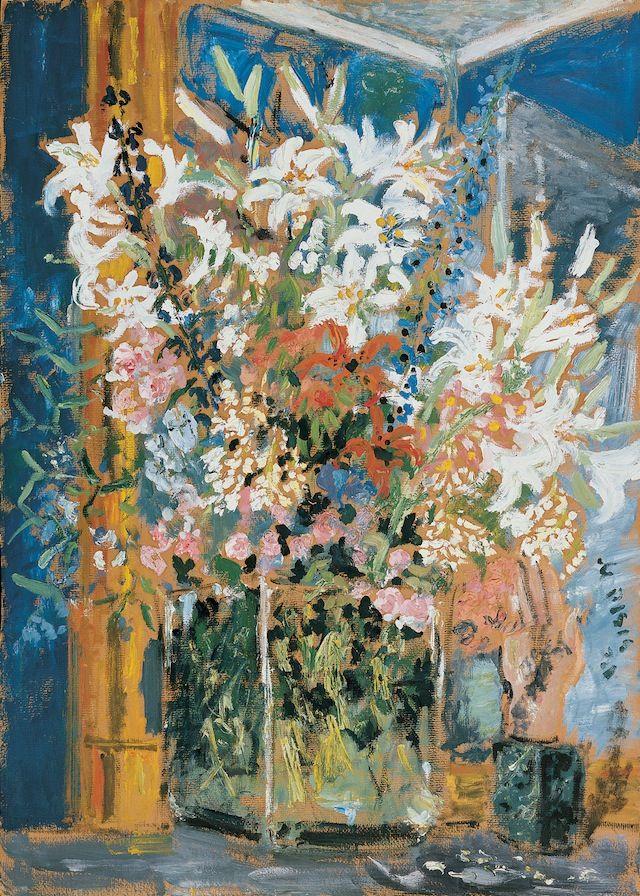 Filippo de Pisis: I grandi fiori di casa Massimo, 1931 – Collezione Fondazione Carife, in deposito presso le Gallerie d'Arte Moderna e Conte...