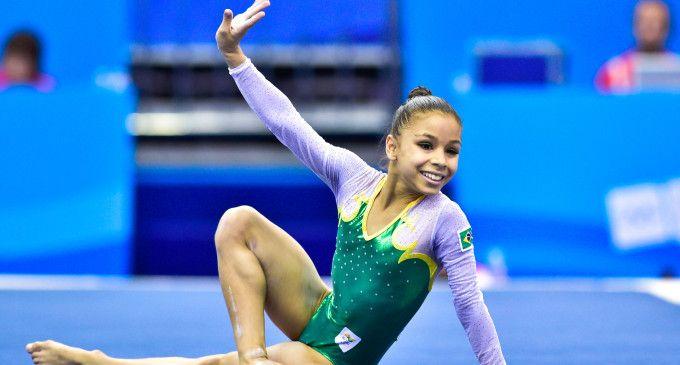 Flávia Saraiva and her amazing floor routine