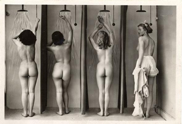 ShowerPostcards, Vintage Shower, Real Women, Body Image, Beautiful, Art, Vintage Photography, Shower Time, Bathroom