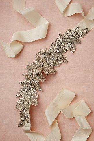 Abelia Sash-- AMAZING website for romantic wedding ideas and items!!!!!!