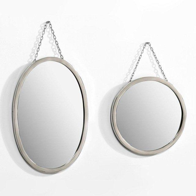 miroir barbier rond ou ovale am pm mobilier d co r tro vintage pinterest. Black Bedroom Furniture Sets. Home Design Ideas